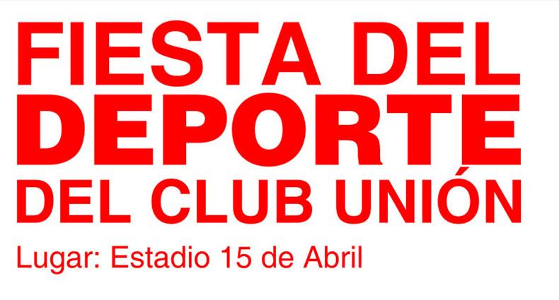 Unión prepara su Fiesta Anual del Deporte