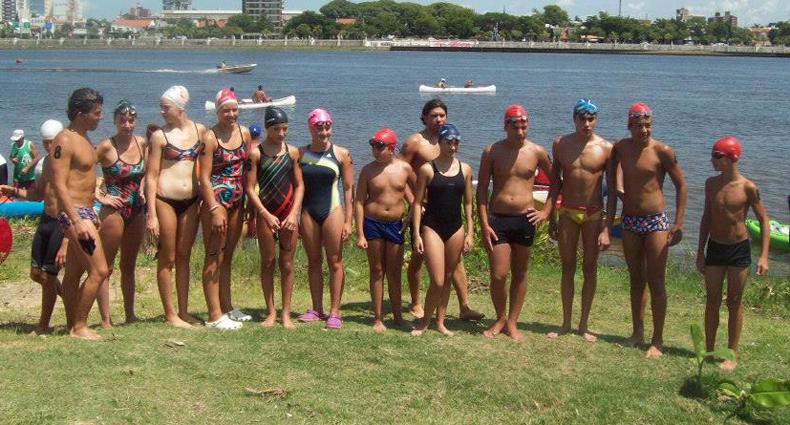La Selección Juvenil de Aguas Abiertas se preparó en Unión