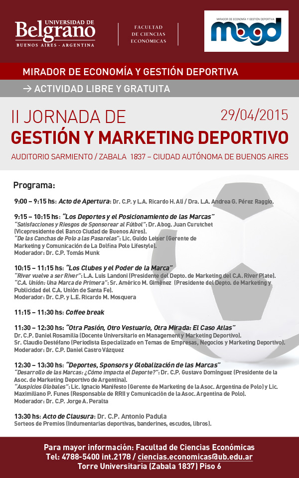 Unión presente en la II Jornada de Gestión y Marketing