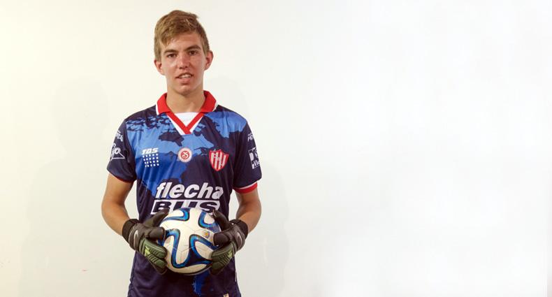 Marcos Peano a la Selección Sub 17