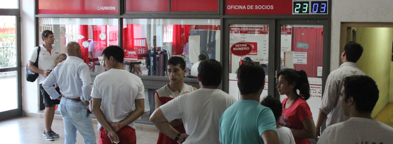 Socios ganadores de plateas para Unión-Independiente
