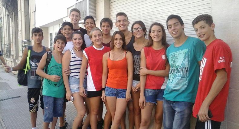 Nadadores tatengues en el Nacional de Federados