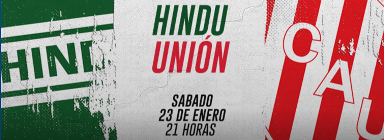 EN VIVO: Hindú vs Unión