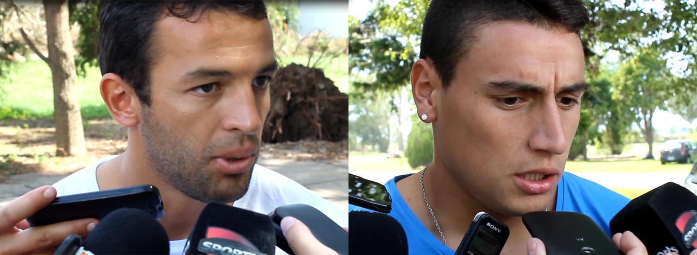 Martínez y Gamba, previo a Racing