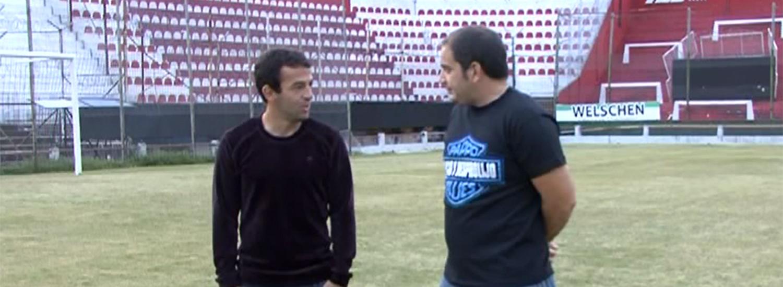 Lucas Gamba y un gol especial, en LVCU TV