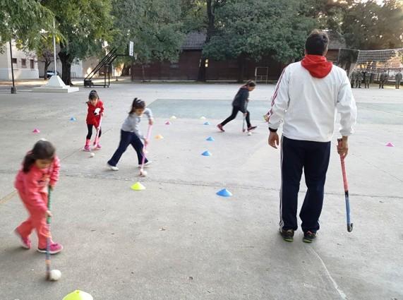 hockey infantil