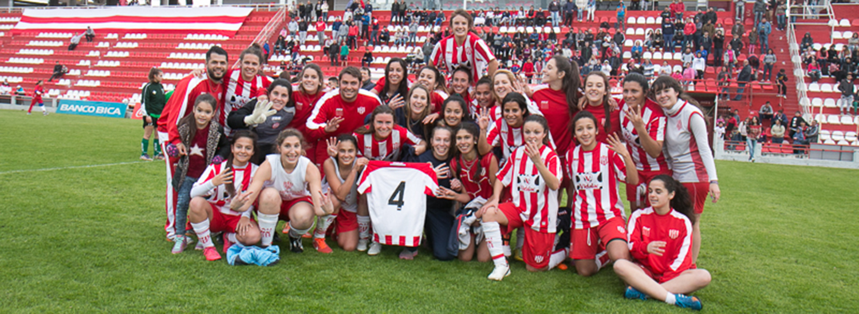 Campeonas en fútbol femenino