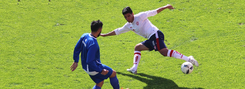 Se midió ante Atlético Rafaela