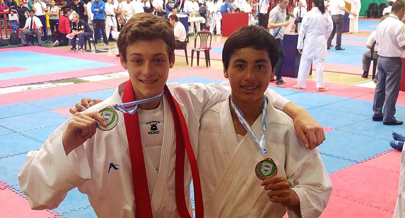 Unión tiene Campeón y Sub Campeón Argentino en Karate