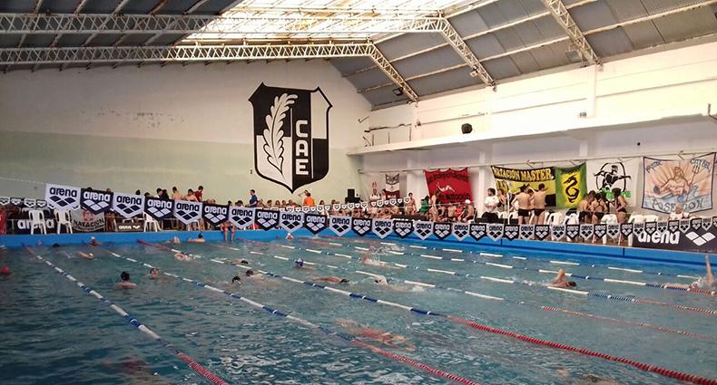 Gran actuación y récords nacionales en el Máster de Paraná
