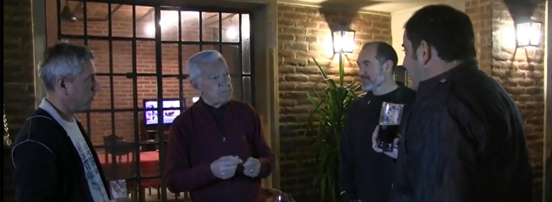 Cacho Galé y una familia de tatengues en LVCU TV