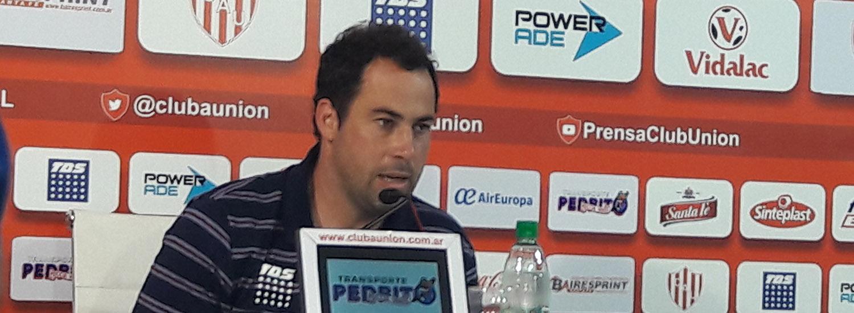 Juan Pablo Pumpido, tras el gran triunfo ante Racing