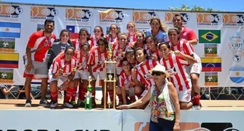 El Fútbol Femenino tatengue subió al podio en Córdoba
