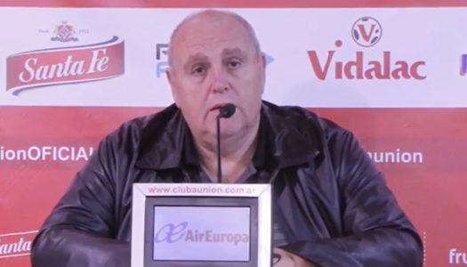 Luis Spahn anunció la salida del DT Pablo Marini