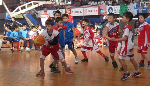 Multitudinario Encuentro de Escuelitas de básquet